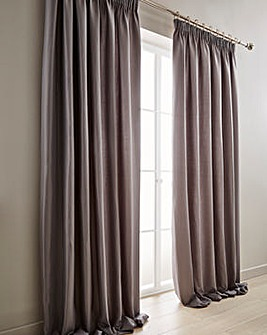Alice Waffle Plain Dye Lined Curtains