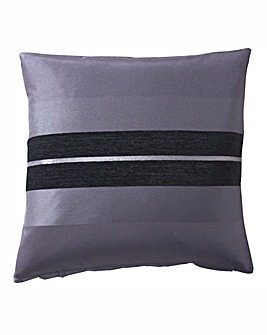 Alessia Chenille Stripe Filled Cushion