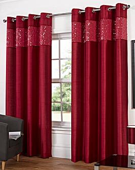 Glitz Eyelet Curtains