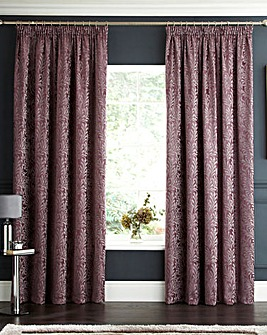 Lorenza Chenille Pencil Pleat Curtains