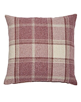 Highland Check Filled Cushion