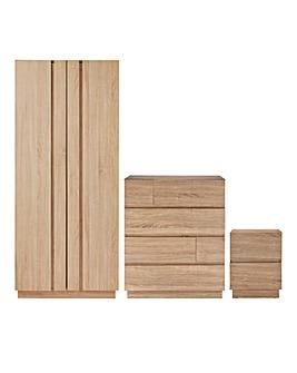 Cuba 3 Piece Bedroom Package