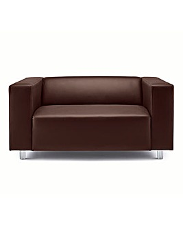 Taylor Faux Leather Two Seater Sofa