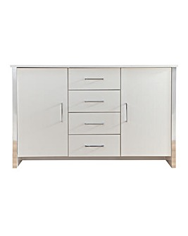 Linea 2-Door 4-Drawer Sideboard