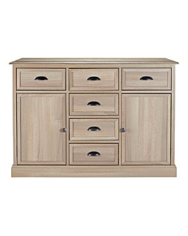 Tiverton 2-Door 6-Drawer Sideboard