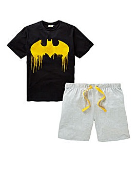 Batman Shorts PJ Set