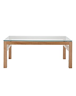 Chicago Oak Coffee Table