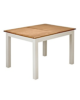 Harrogate Oak Veneer Extending Table