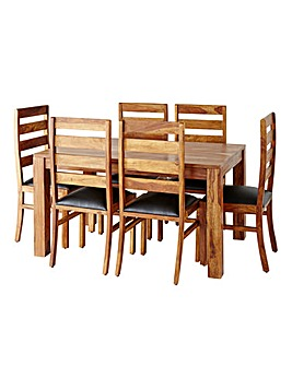 Origen Dining Table and 6 Chairs