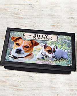 Personalised Dog Laptray