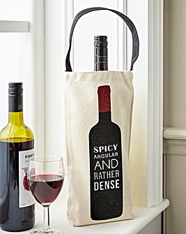 Spicy & Dense Wine Bottle Bag