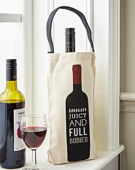 Juicy Full Bodied Wine Bottle Bags