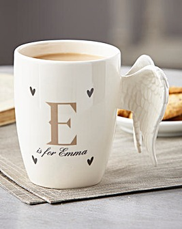 Personalised Angel Wings Mug