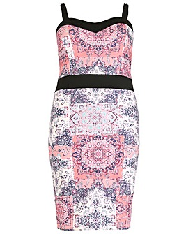 Sienna Couture Patchwork Dress
