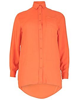 Sienna Couture Dip Hem Shirt