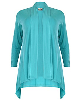 emily Jersey Waterfall Cardigan