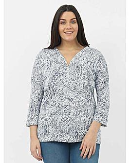 Koko Paisley Print Tunic