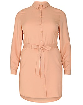 Sienna Couture Turn Back Shirt Dress