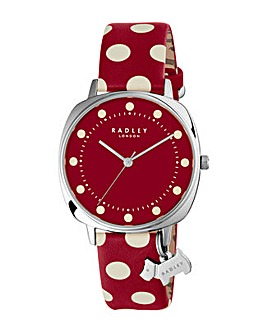 Radley Ladies Spotted Strap Watch