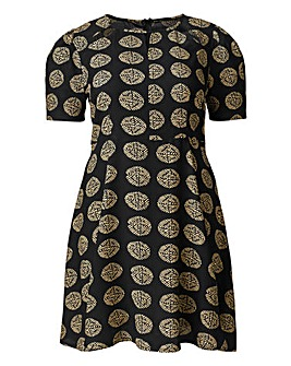 AX Paris Coin Print Skater Dress