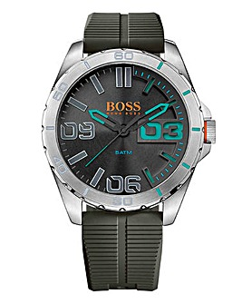 Boss Orange Gents Silicon Strap Watch