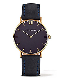 Paul Hewitt Gents Leather Strap Watch