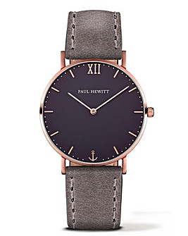 Paul Hewitt Gents Leather Strap Watch