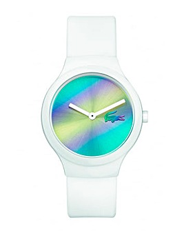 Lacoste Goa Unisex White Strap Watch