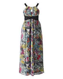 AX Paris Jungle Print Maxi Dress
