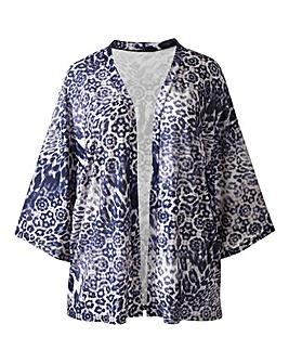 Simply Be Leopard Kimono