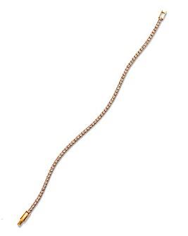 Crystal Glitz Tennis Bracelet