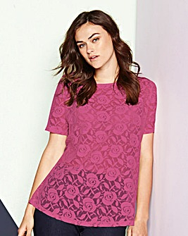 Simply Be Lace Shell Top
