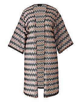 AX Paris Netted Kimono