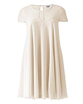 Lipstick Boutique White Swing Dress