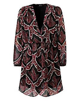 Ax Paris Print Wrap Dress
