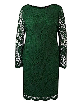 AX Paris Curve Crochet Lace Dress