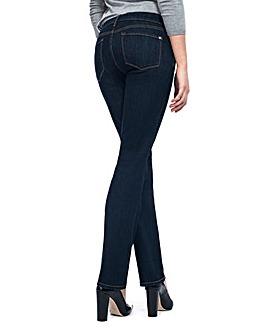 NYDJ Marilyn Straight Dark Denim Jeans