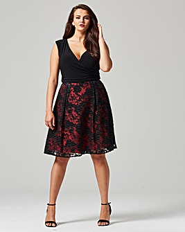 Studio 8 Josephine Jacquard Dress