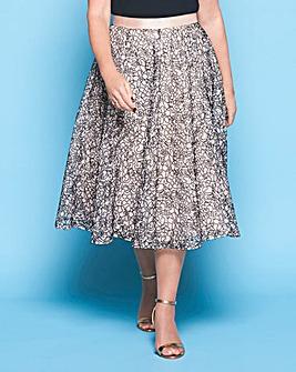 Lorraine Kelly Cornelli Lace Skirt