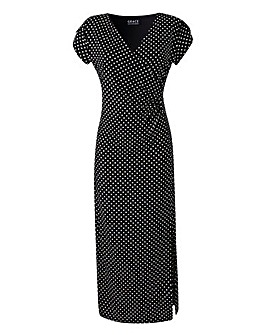 Grace Polka Dot Maxi Dress