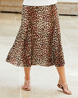 Crinkle Reversible Skirt