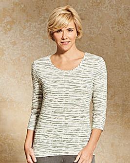 Slimma Stripe Jersey T Shirt