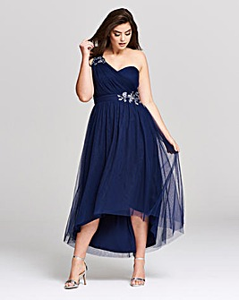 Little Mistress One Shoulder Prom Dress