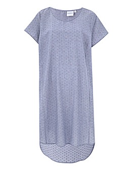 Junarose Dipped Back Shift Dress