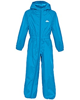 Trespass Button  Babies Rain Suit