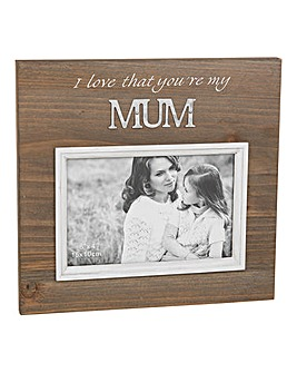 Wooden Galvenised Frame
