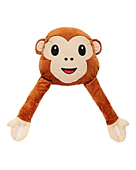 Emoti Monkey Cushion with Arms