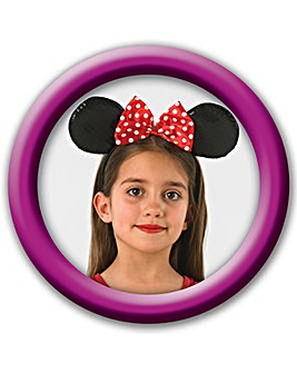 Pink Minnie Mouse Deluxe Ears