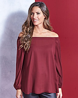 Simply Be Off The Shoulder Blouse