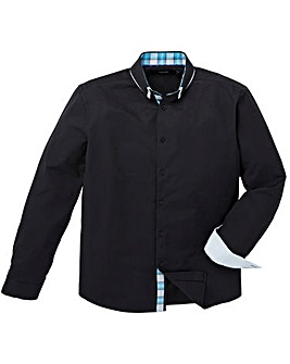 Black Label Double Collar Party Shirt